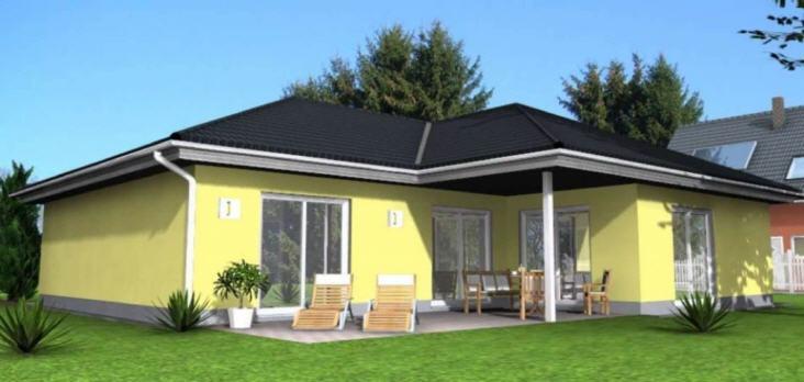 bungalow massivhaus typ mainz barrierefrei. Black Bedroom Furniture Sets. Home Design Ideas