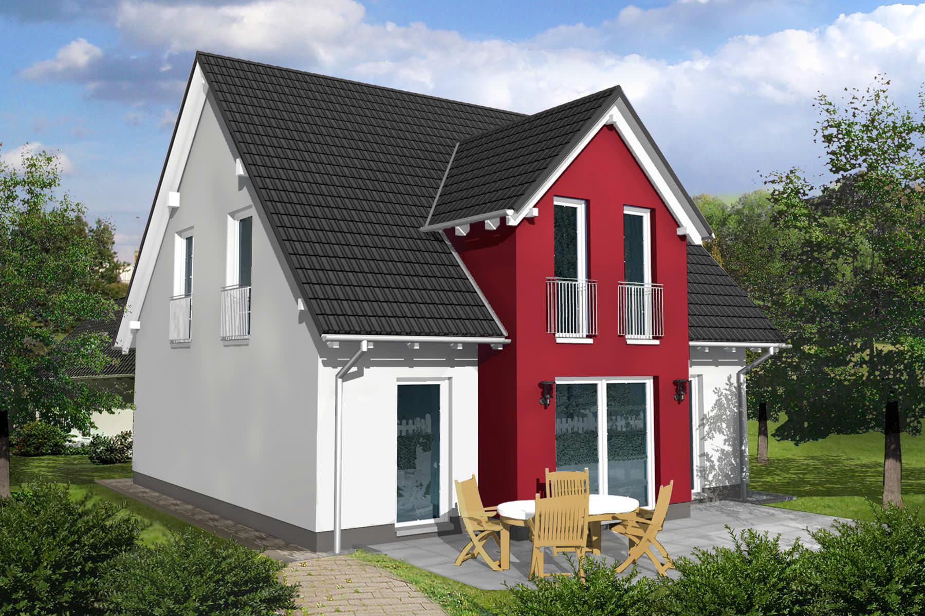 einfamilienhaus efh massivhaus typ kassel. Black Bedroom Furniture Sets. Home Design Ideas