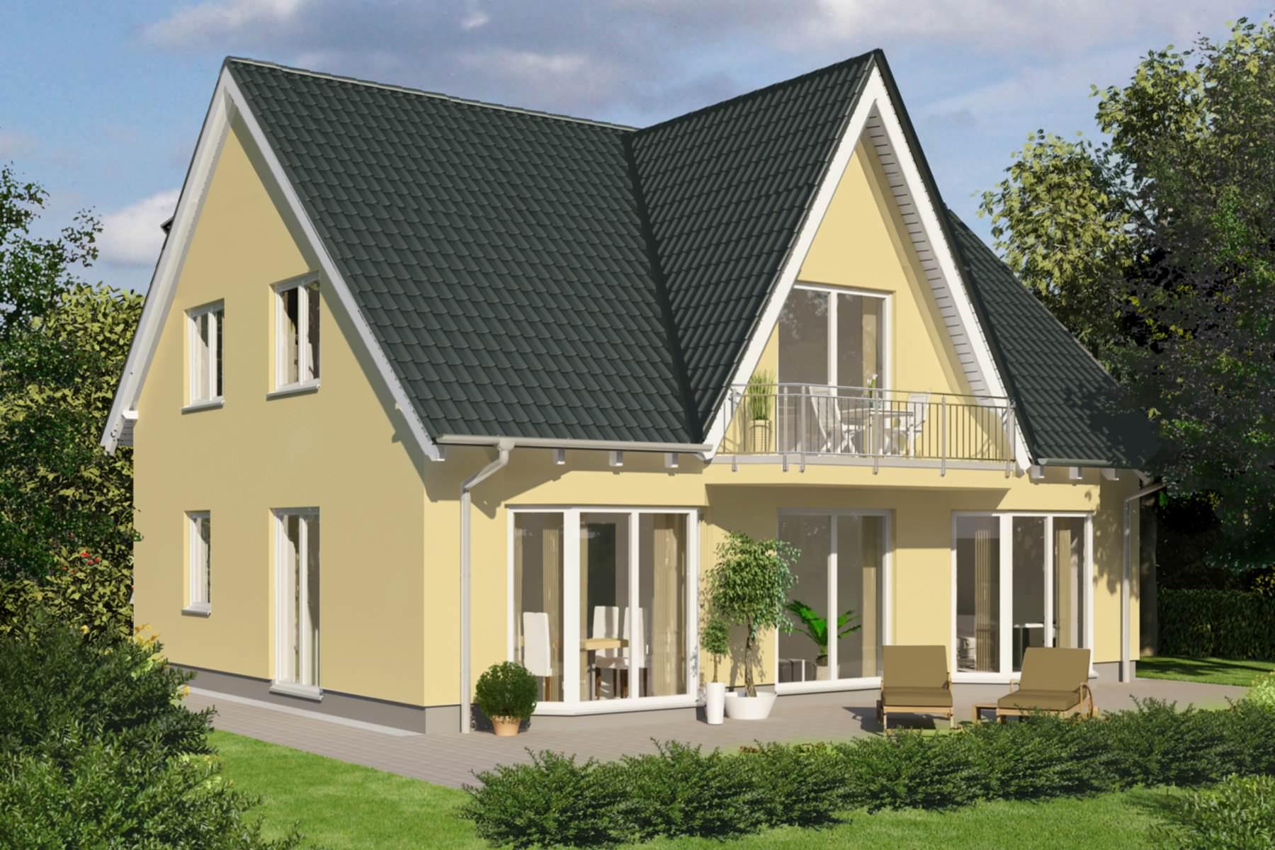 einfamilienhaus efh massivhaus typ mannheim. Black Bedroom Furniture Sets. Home Design Ideas