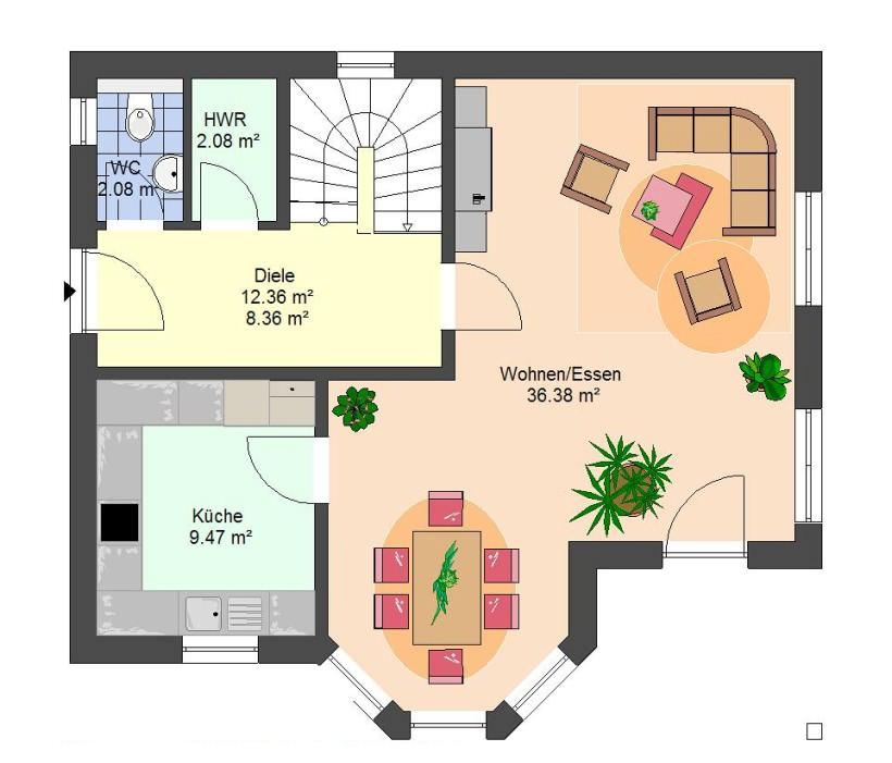 einfamilienhaus efh massivhaus typ darmstadt. Black Bedroom Furniture Sets. Home Design Ideas
