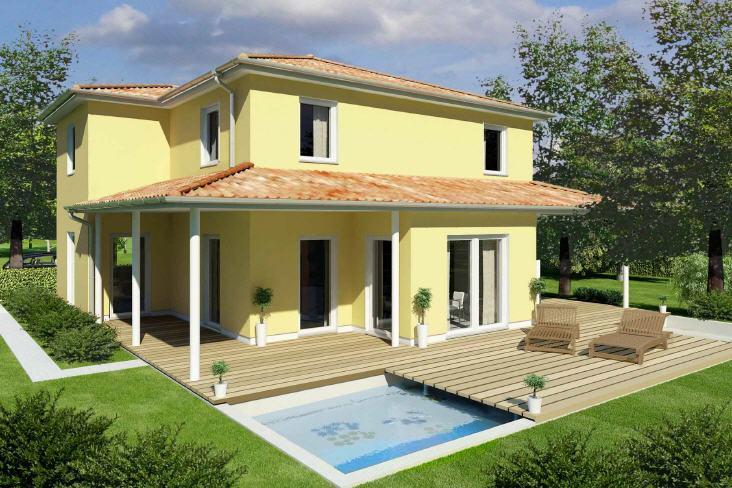 mediterranes haus massivhaus typ rimini. Black Bedroom Furniture Sets. Home Design Ideas