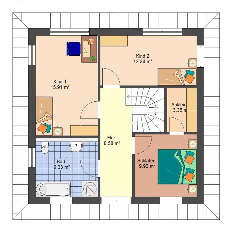 mediterranes haus massivhaus typ toskana. Black Bedroom Furniture Sets. Home Design Ideas