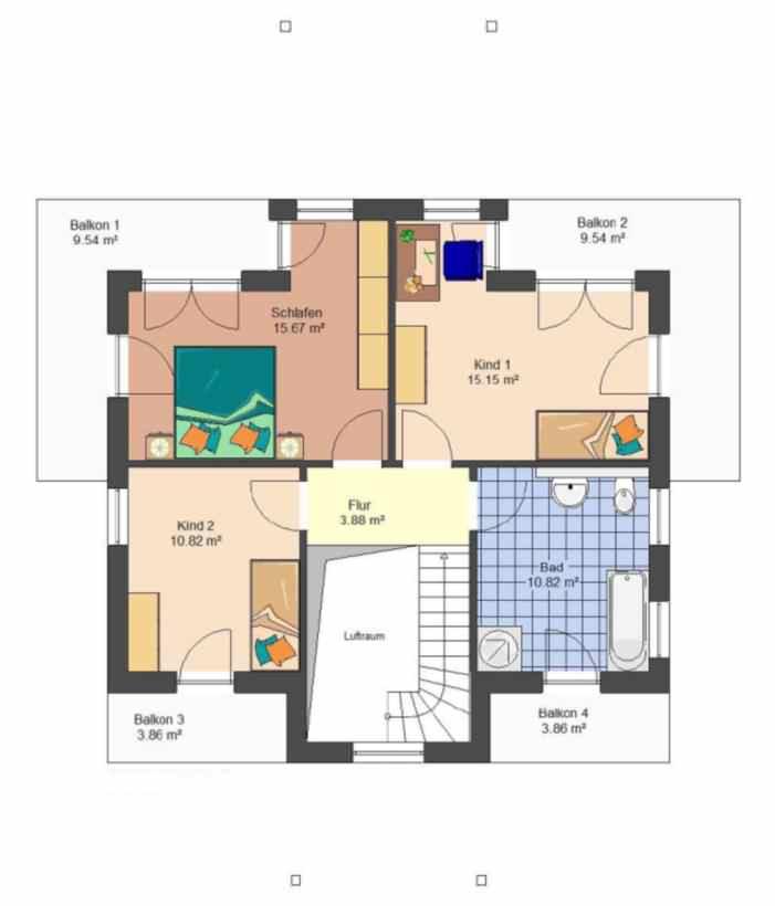 "Massivhaus grundriss  Stadtvilla | Stadthaus - Massivhaus - Typ ""Garda"""